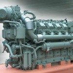 Дизель-генератор 8ЧН 26/26 (7-6Д49) (3А6Д49)Технические характеристики Мощность дизеля — 1335 кВт Частота вращения — 1000  об/мин Удельный расход топлива — 191 г/кВт.ч. Масса дизеля (сухая) — 10800 кг Габариты(мм): длина — 3475, ширина — 1572, высота — 2600