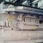 дизель 1ПД4 (ремонт на заводе-изготовителе)Технические характеристики: Номинальная (длительная) мощность, л.с. 1200  Номинальная частота оборотов, об/мин 750 Удельный расход топлива, г/кВт*ч 224 , Удельный расход масла на угар, г/кВт*ч  2,04,